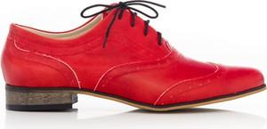 Półbuty Zapato z płaską podeszwą w stylu casual