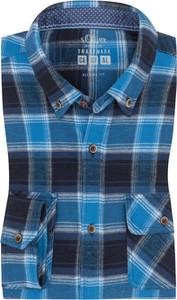 Koszula S.Oliver z klasycznym kołnierzykiem z bawełny
