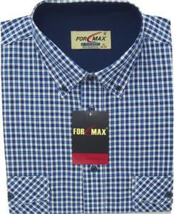Koszula Formax z długim rękawem z bawełny z klasycznym kołnierzykiem