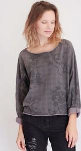 Fioletowa bluzka Selaya