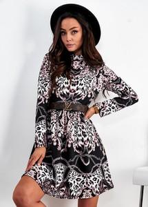 Sukienka Ligari Dresses z golfem mini