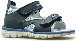 Czarne buty dziecięce letnie RenBut na rzepy