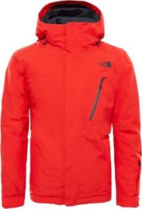 Pomarańczowa kurtka The North Face