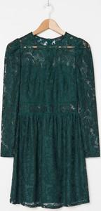 Zielona sukienka House mini