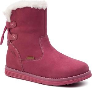 Buty dziecięce zimowe Lasocki Kids na zamek