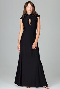 Czarna sukienka LENITIF bez rękawów