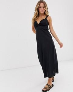 Czarna sukienka Asos Design maxi
