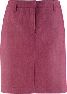 Różowa spódnica bonprix bpc bonprix collection midi