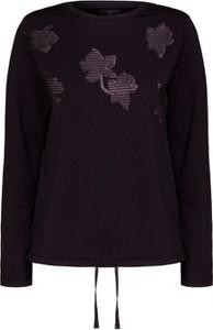 Czarny sweter Bogner z bawełny w stylu casual