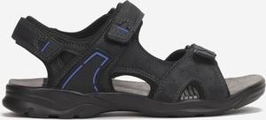 Buty dziecięce letnie born2be dla chłopców na rzepy ze skóry