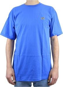 Niebieski t-shirt Obey z bawełny