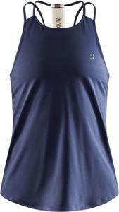 Bluzka Craft z okrągłym dekoltem w sportowym stylu