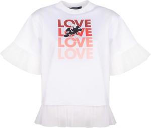 """T-shirt Sugarbird T-shirt """"boria Mickey"""" z tiulu z krótkim rękawem z nadrukiem"""