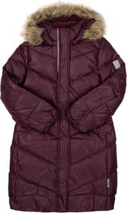 Fioletowy płaszcz dziecięcy Reima dla dziewczynek