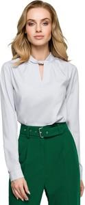 Bluzka Style z okrągłym dekoltem