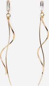 Reserved - Wiszące kolczyki - Złoty