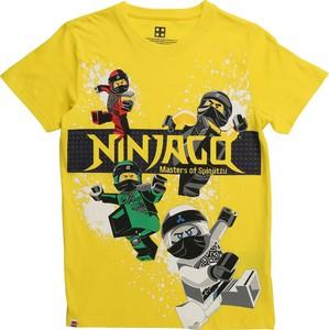 Żółta koszulka dziecięca LEGO Wear