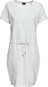 Sukienka bonprix RAINBOW z krótkim rękawem w stylu casual midi
