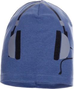 Granatowa czapka Ambra