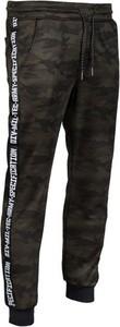 Czarne spodnie sportowe Mil-Tec