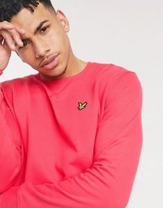 Różowa bluza Lyle & Scott z dresówki