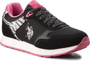 Sneakersy u.s. polo assn. - thea free4030s8/lt1 blk/fux