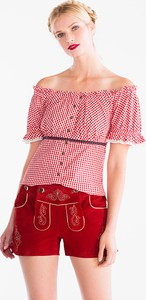 Bluzka Landhaus hiszpanka z krótkim rękawem