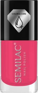 C672 Lakier do paznokci z odżywką Semilac Color&Care 7ml