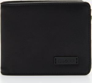 Czarny portfel męski Cropp ze skóry