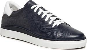 Sneakersy RYŁKO - IDWT01 RN991 Granatowy/Biały 4YB