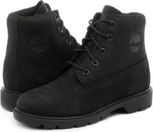 Buty dziecięce zimowe Timberland ze skóry
