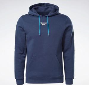 Niebieska bluza Reebok Fitness z plaru