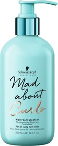 Schwarzkopf Mad About Curls High Foam Cleanser | Szampon do włosów lekko kręconych 300ml