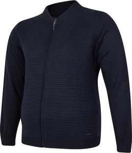 Sweter Bigsize z bawełny