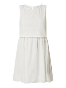 Sukienka Tom Tailor Denim z okrągłym dekoltem z bawełny bez rękawów