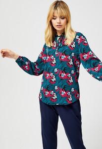 Koszula Moodo ze sznurowanym dekoltem