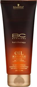Schwarzkopf BC Oil Miracle Argan Oil   Szampon do włosów normalnych i grubych 200ml - Wysyłka w 24H!