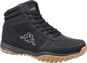 Czarne buty trekkingowe Kappa