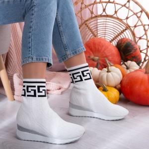 Sneakersy Royalfashion.pl z nadrukiem