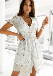 Sukienka Latika z dekoltem w kształcie litery v