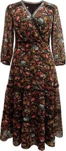 Sukienka Semper z długim rękawem w stylu boho