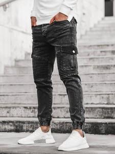 Jeansy producent niezdefiniowany w młodzieżowym stylu z bawełny