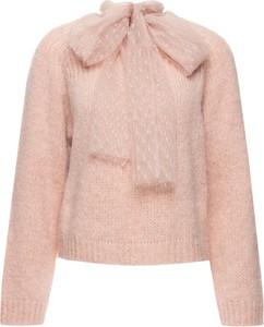 Różowy sweter Red Valentino