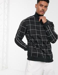 Czarna bluza topman z dresówki