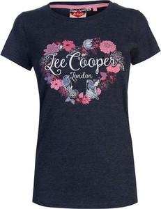T-shirt Lee Cooper z okrągłym dekoltem
