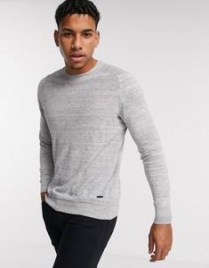 Srebrny sweter Hugo Boss