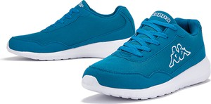 Niebieskie buty sportowe Kappa sznurowane