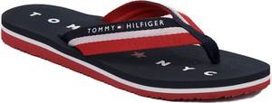 Klapki Tommy Hilfiger z płaską podeszwą