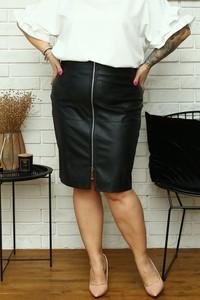 Czarna spódnica KARKO midi