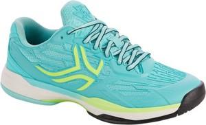 Miętowe buty sportowe artengo w sportowym stylu